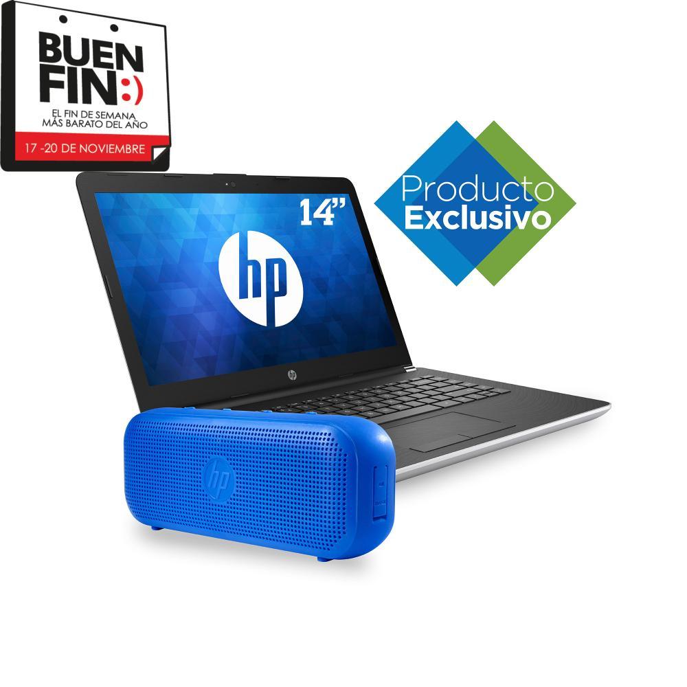 Ofertas Buen Fin 2017 Sam's Club:  Laptop HP 8GB RAM 1TB más Bocina BT , MODELO HP 14-bw005la, Procesador AMD A9