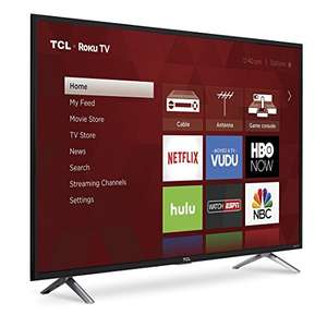 "Amazon: TCL 49"" Roku Smart TV Full HD Modelo 49S305-MX (2017)"