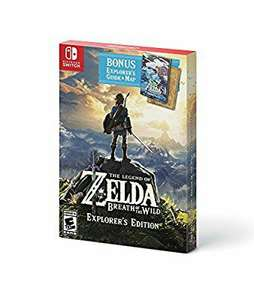 Ofertas Buen Fin 2017 Amazon: The Legend of Zelda Breath of the Wild Explorers Edition Nintendo Switch