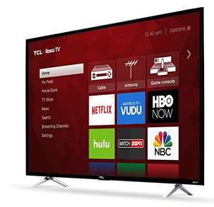 "Buen Fin 2017 en Amazon: Pantalla TCL 55"" Roku Smart TV Ultra HD 4K 55S405-MX (2017) con cupón"