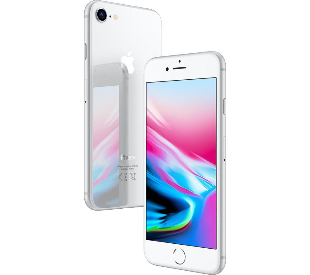 Radioshack: iPhone 8 64Gb Silver Descuento con Banamex