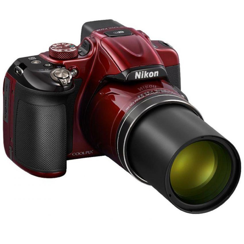 Linio: Cámara Nikon COOLPIX P600-Rojo