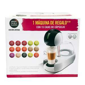 sam's club: cafetera dolce gusto 15 cajas + maquina stelia