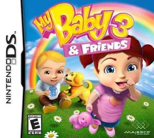 Buen Fin 2017 en Amazon MX: My Baby 3 and Friends para Nintendo DS