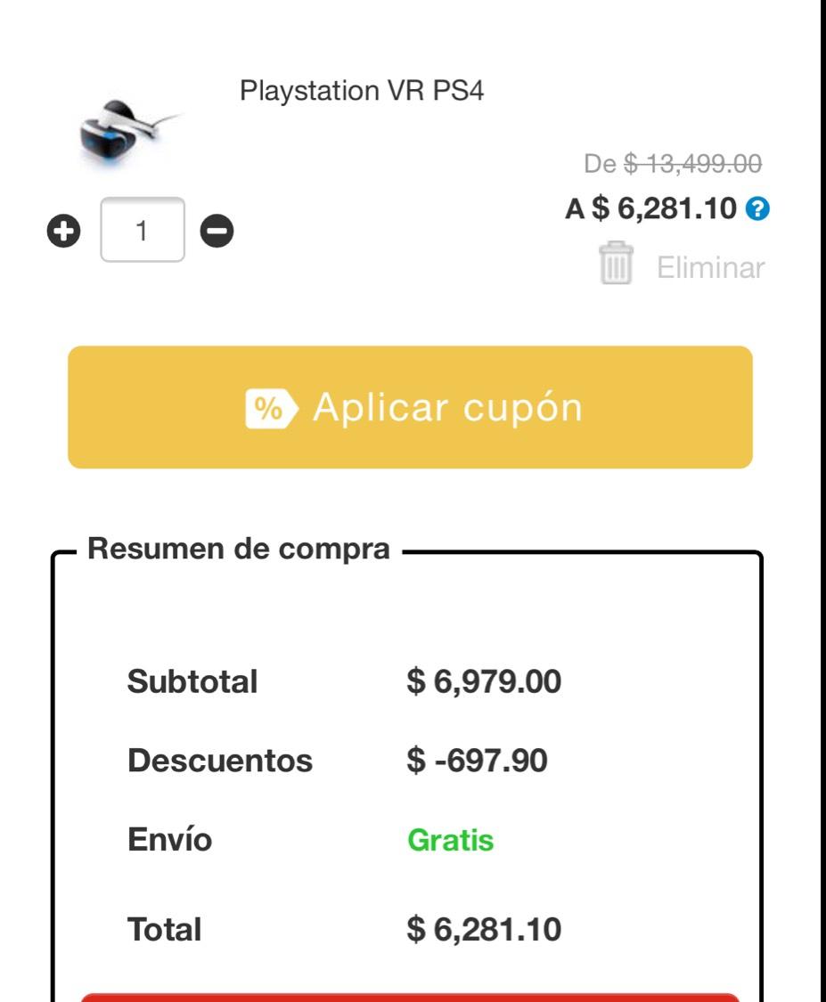 Buen Fin 2017 en Elektra: PlayStation VR $5,759 con Banamex a 12 msi