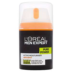 Buen Fin 2017 en Amazon: L'Oréal Paris Men Expert Pure Power Crema Anti-Imperfecciones