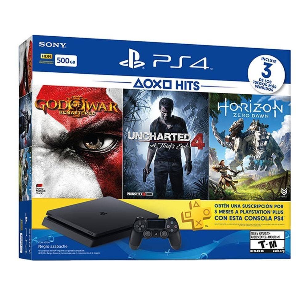 Buen Fin en Walmart: PS4 500GB + 3 Juegos (Bancomer) opción con Inbursa