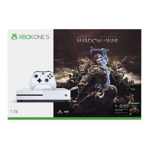 El Buen Fin 2017 Walmart: Xbox One S 1TB Middle Earth Shadow of War $5,386 con WM Inbursa