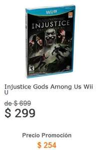 Liverpool: Injustice para PS3, Xbox 360 y WiiU a $254