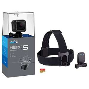 Amazon - GoPro Bundle HERO5 Session + Headstrap +SD card 16GB