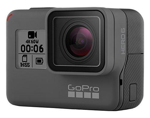 Buen Fin 2017 en Amazon: GoPro Hero 6, Cámara de Acción, 4K, 60 FPS, 1080p (Descuento adicional TDC Participantes)