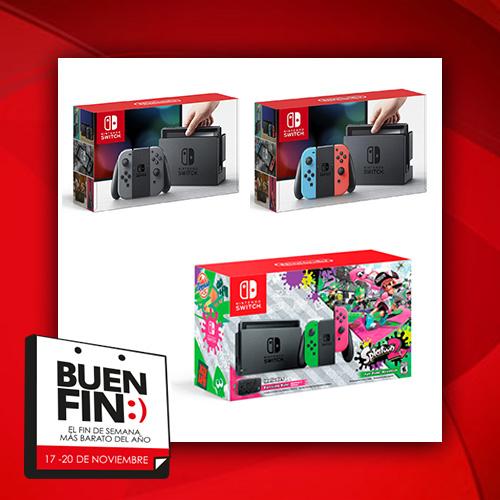 El Buen Fin 2017: resumen de mejores ofertas consolas Nintendo Switch