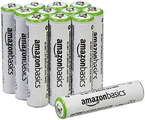 Amazon MX: 12 Baterías Amazon Basics recargables. APLICA PRIME
