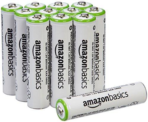 Amazon MX: 12 Baterías Amazon Basics recargables. APLICA PRIME