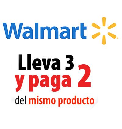 Buen Fin 2017 en Walmart: 3x2 en Papel Higienico, Detergente, Cafe, Helado, Agua, Cereal, Jabon, Shampoo