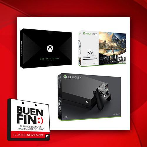El Buen Fin 2017: resumen de mejores ofertas consolas Xbox One