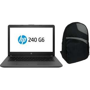 Buen Fin 2017 en Linio: Laptop HP 240 G6 + Backpack