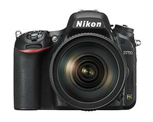 Buen Fin 2017 en Amazon: Nikon D750 Full Frame 24-120 mm con cupón