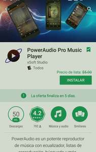 Google Play: Gratis. PowerAudio Pro Music Player