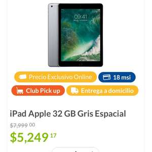 Buen Fin 2017 Sam's Club: iPad 9.7