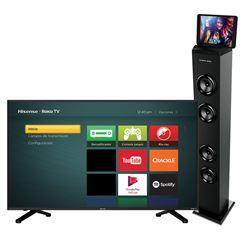Sanborns: Pantalla Hisense 50 4K más torre Bluetooth