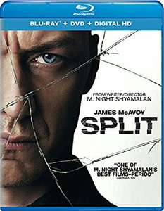 Buen Fin 2017 en Amazon: Split en Blu-ray
