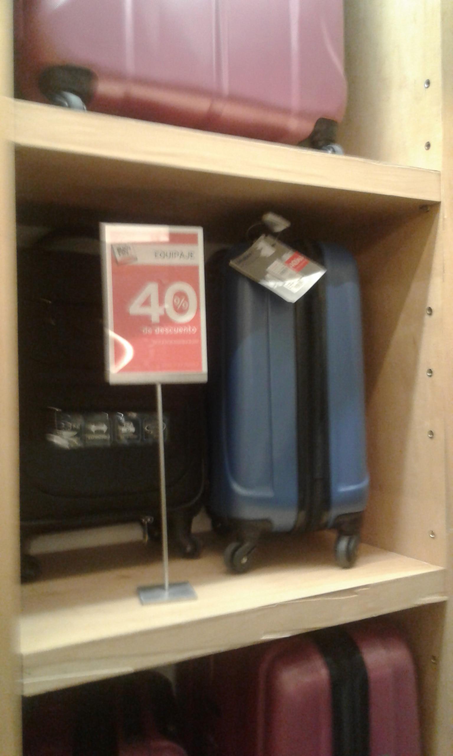 Palacio de Hierro: 40% en TODAS LAS maletas