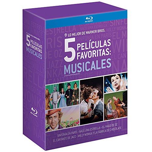 Buen Fin 2017 en Amazon: Collecion Blurays - Willy Wonka, El Mago de Oz etc...