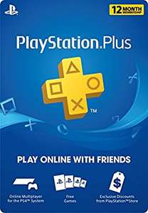 Amazon USA: 12 meses de Playstation PLUS