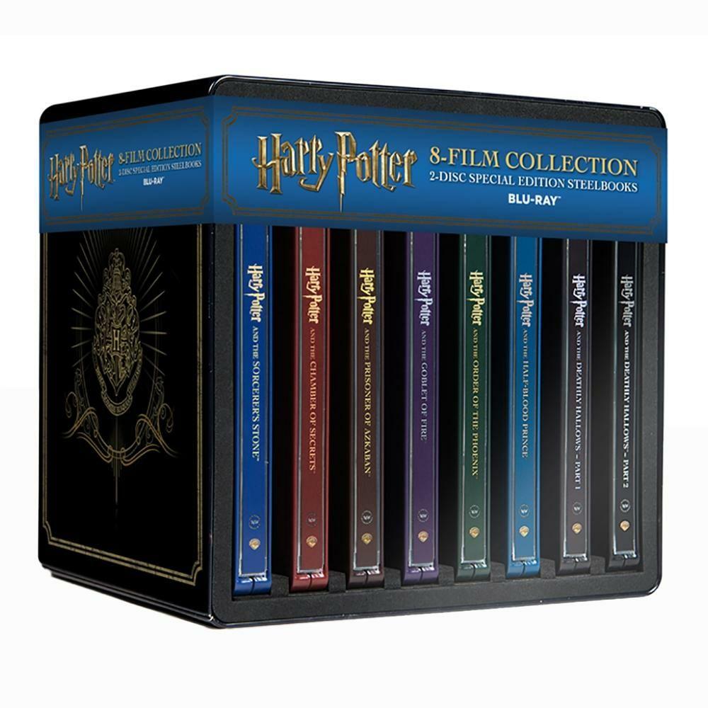 Buen Fin 2017 en Walmart: Harry Potter Colección Completa Blu-Ray en SteelBooks