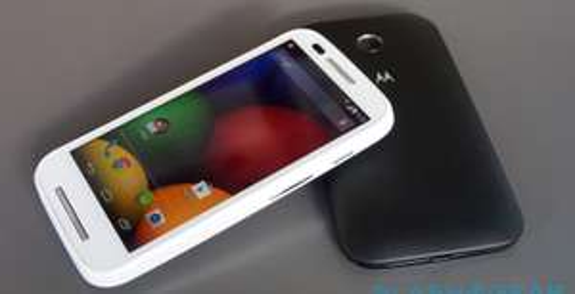 Liverpool: celular Moto E Telcel negro y blanco $1,699