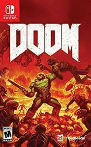 Buen Fin 2017 en Amazon: Doom Nintendo Switch con Amazon Cash
