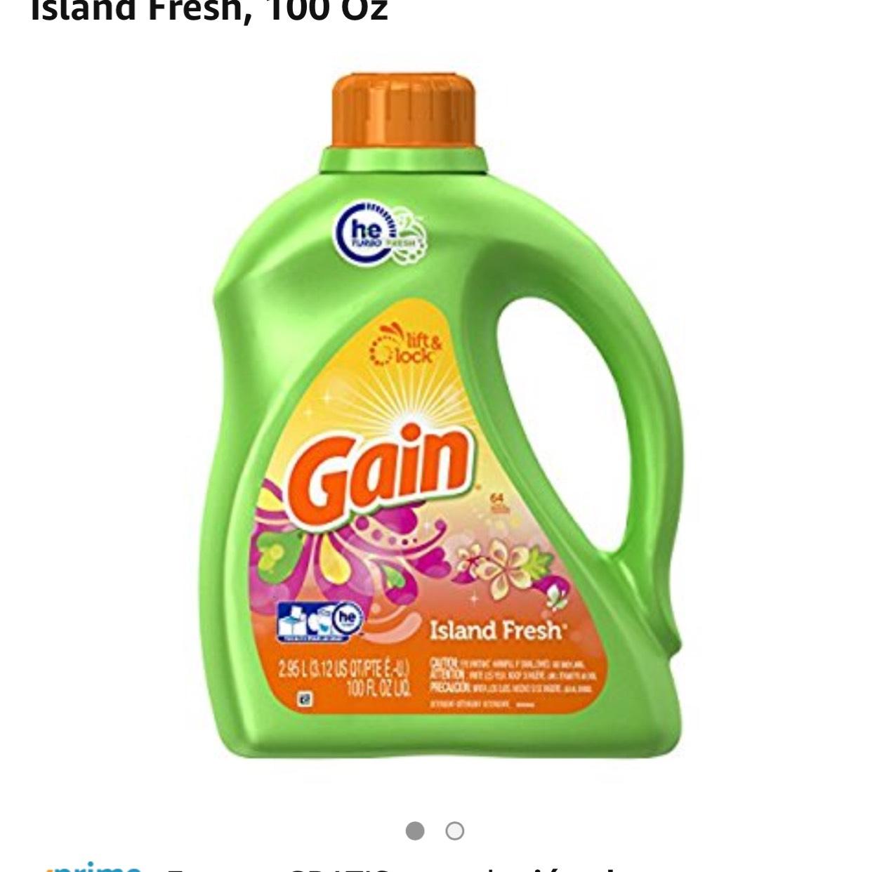 Buen Fin 2017 en Amazon: Detergente Gain Island Fresh