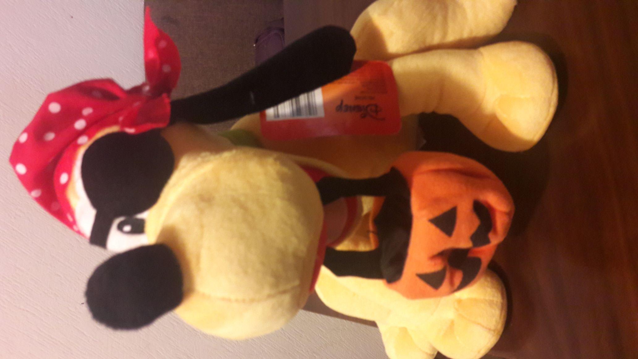 Walmart galerías Saltillo: peluche de Pluto Halloween