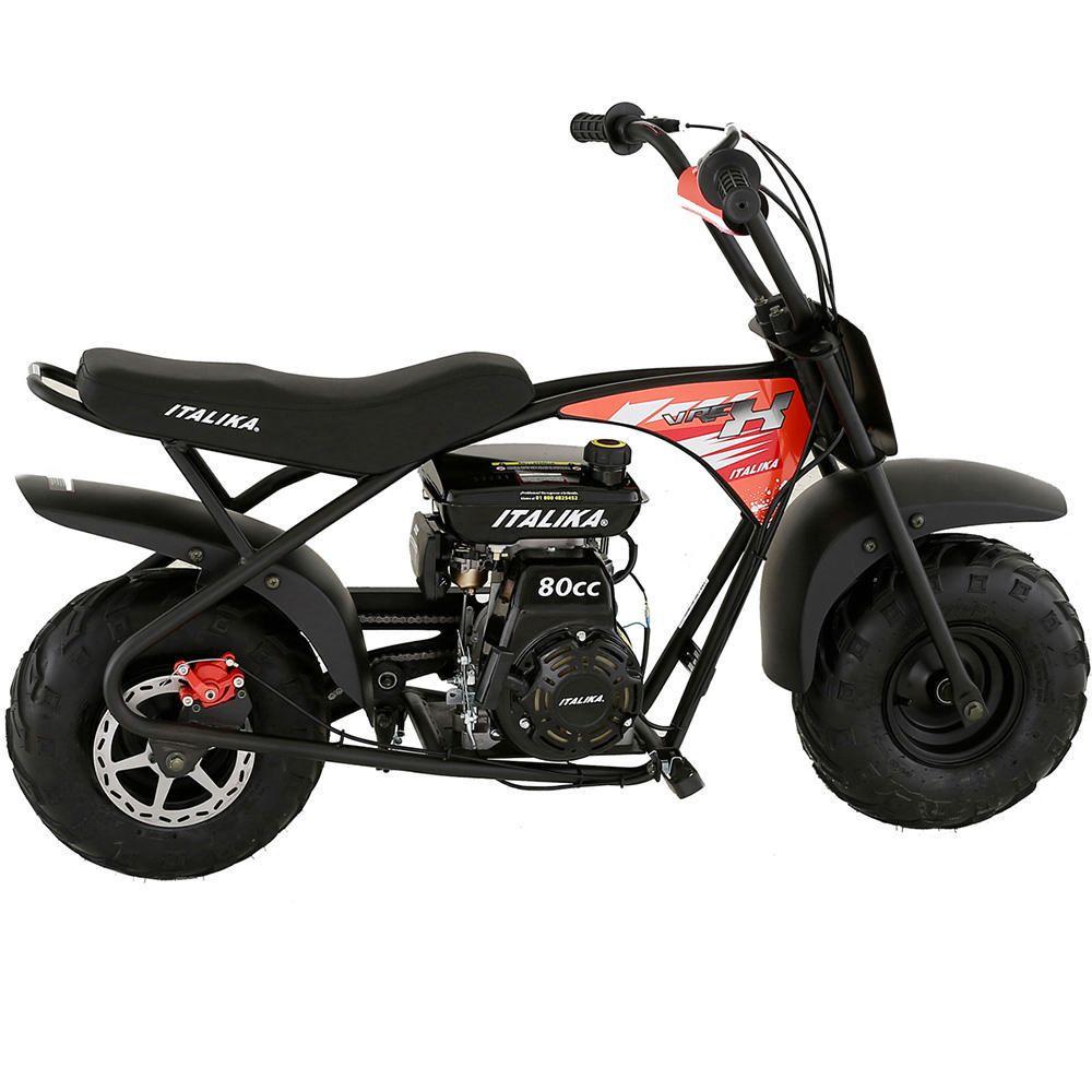 Buen Fin 2017 en Elektra: Motocicleta Infantil Italika V-Rex 80 CC Negro con Naranja con MercadoPago