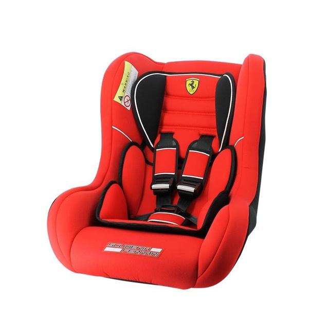 Buen Fin 2017 en Walmart: Autoasiento Ferrari Trio Sp Rojo $790