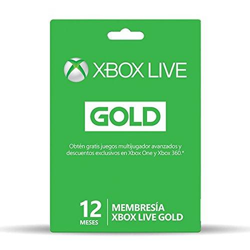 Buen Fin 2017 en Amazon: Membresía 12 meses de Xbox Live Gold a $705
