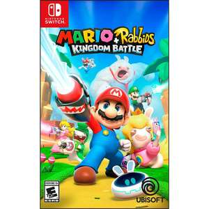 Buen Fin 2017 en Elektra: MARIO+RABBIDS KINGDOM BATTLE NINTENDO SWITCH a $818 con mercadopago