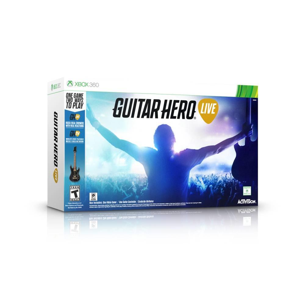 Walmart: Guitar Hero Live Bundle Xbox 360 $399