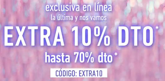 Forever21: EXTRA 10% EN MERCANCIA YA REBAJADA DE HASTA 70%