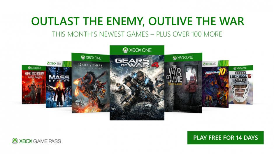 Xbox Game Pass: juegos de Diciembre