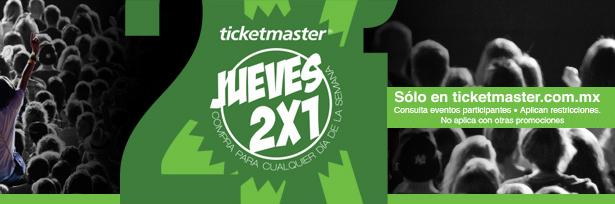 Ticketmaster: Klaxons, Emmanuel & Mijares y más