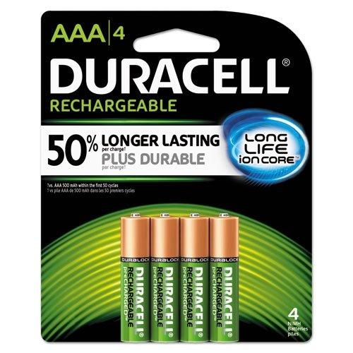 Amazon pilas duracell recargables aaa 4 pack aaa4bcd - Pilas recargables aaa ...