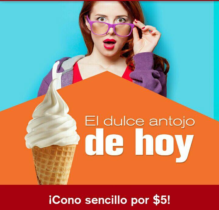 McDonald's: $5 pesos Cono Sencillo