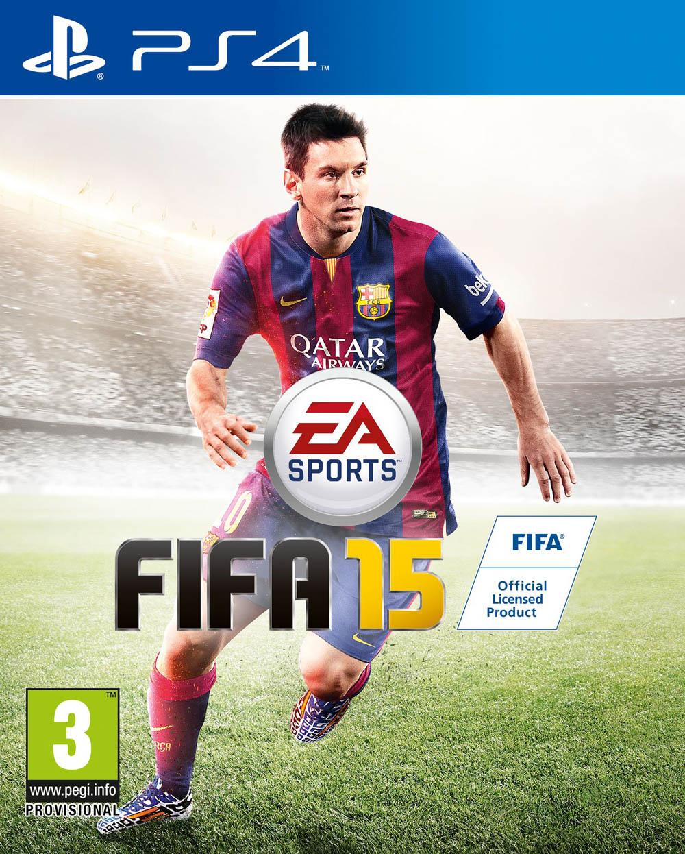 Linio: videojuego FIFA 15 para PS4 $449