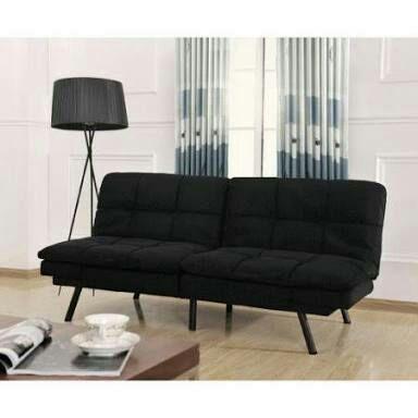 Walmart: Sofa Cama Mainstays Memory Foam Negro