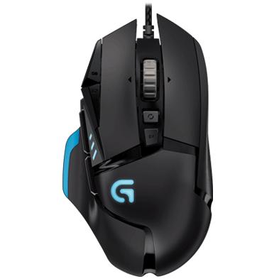 CYBERPUERTA: Mouse Gamer Logitech Óptico G502 Proteus Spectrum (Incluye envío)