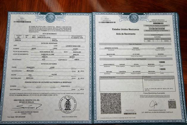 GOB.MX | Actas de Nacimiento Gratis (Unicamente CDMX) Certificadas en Linea