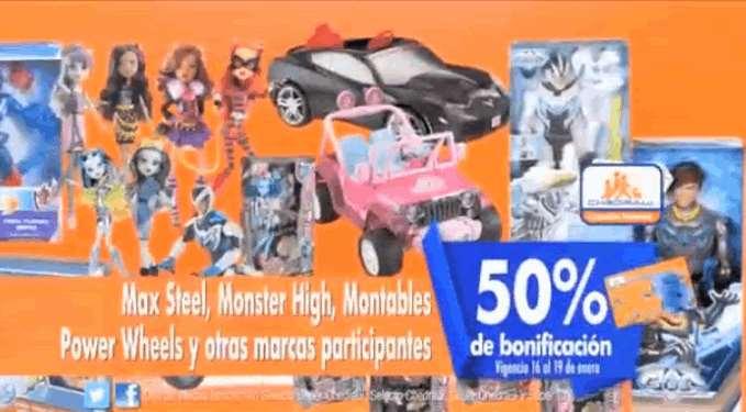 Chedraui: 50% de bonificación en monedero en juguetes