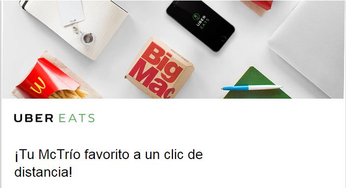 UberEats: Envío gratis en tu primer pedido McDonald's Querétaro, Tijuana y Hermosillo.